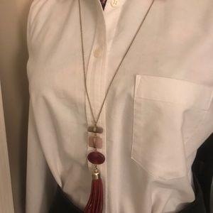 🎉Brand New Ann Taylor Multistone Pendant Necklace